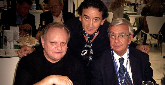 Robuchon, Sanchidrián y Ansón
